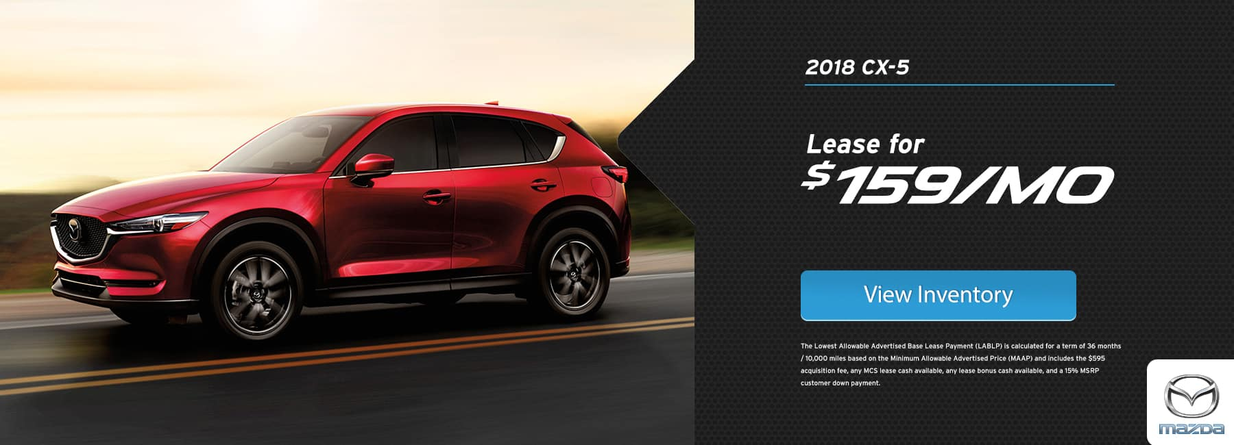 CX-5 Lease Special January