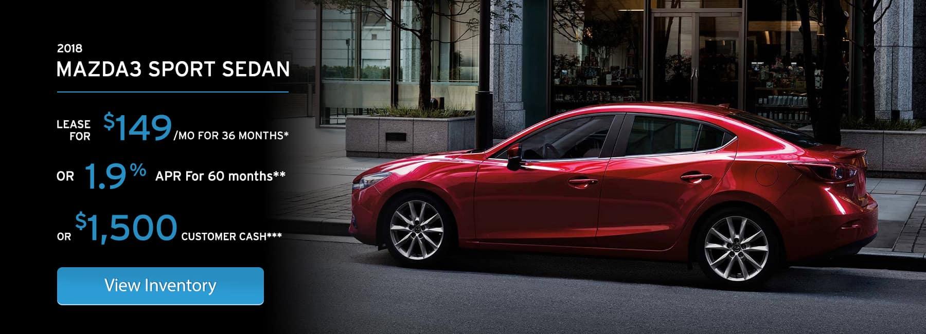 Mazda3 November Offer in Elgin