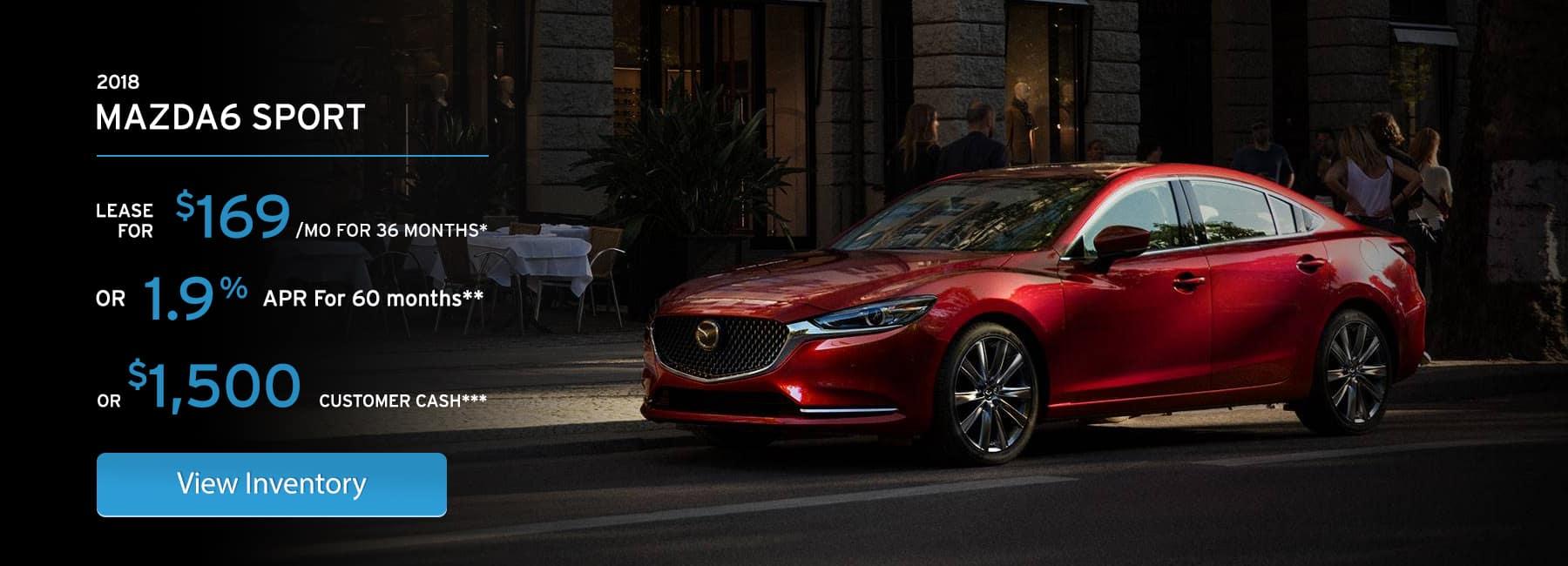 Mazda6 October Incentives in Elgin, IL