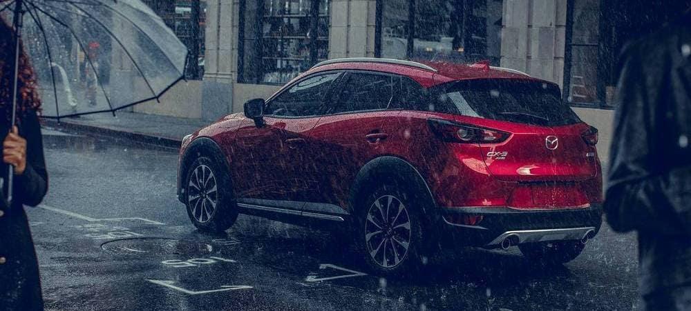 2019 Mazda CX-3 Red In Rain
