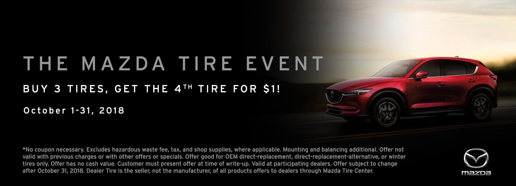 October 2018 Mazda Tire Event