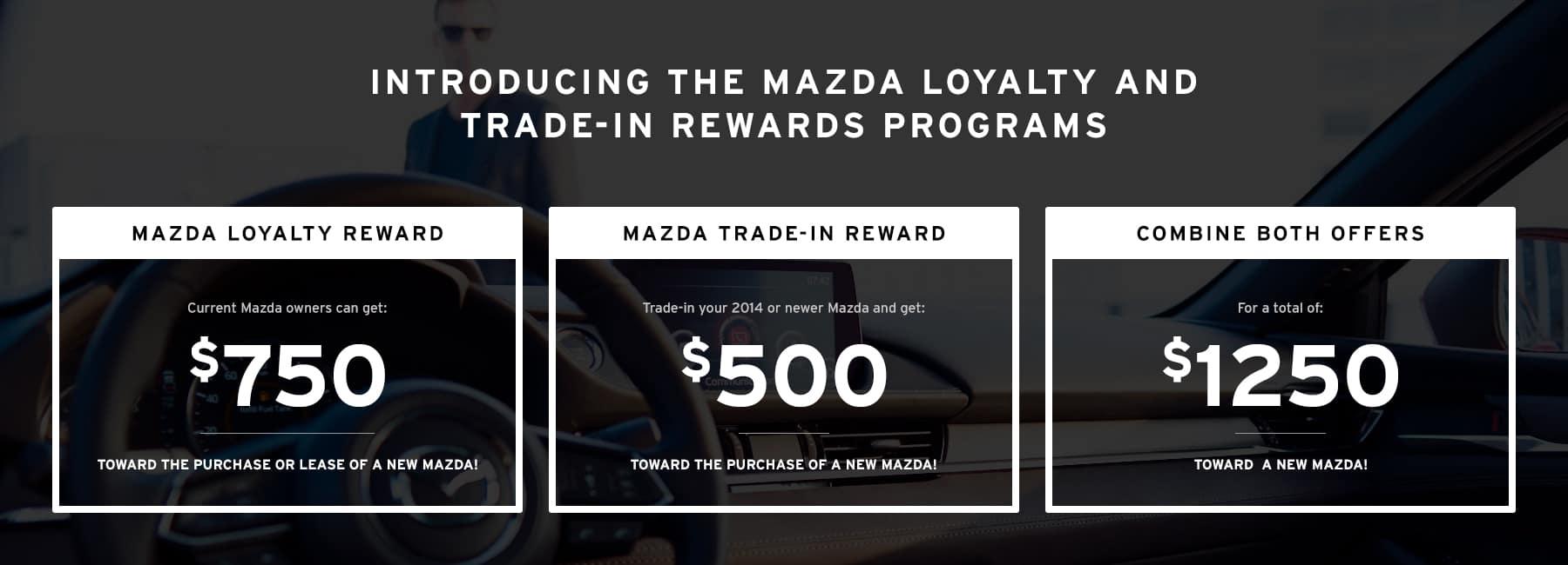 Mazda Loyalty and Trade-in Reward Programs