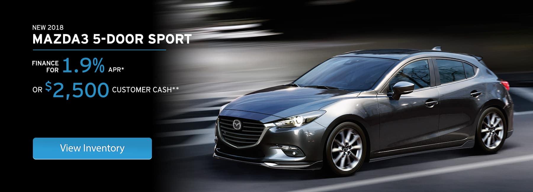 Mazda3 Hatch Offer