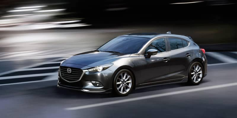 2018 Mazda3 Hatchback in Grey