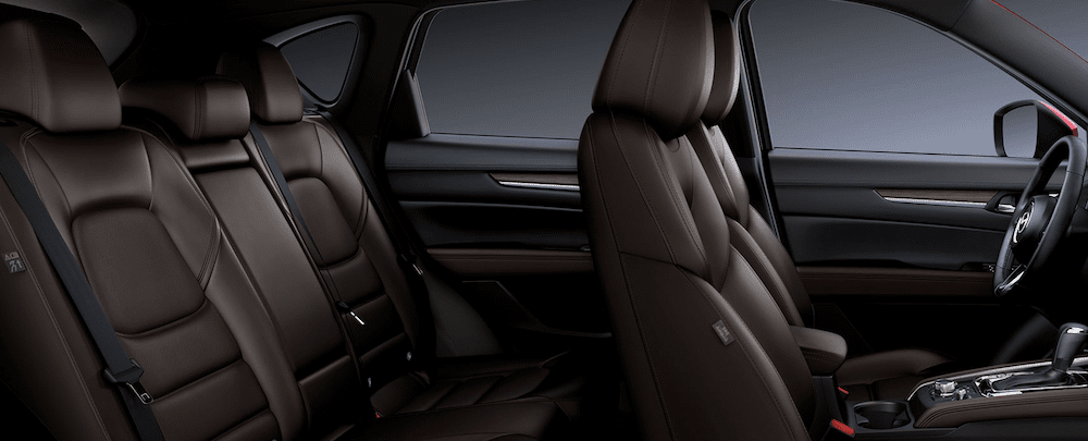 2019 Mazda CX-5 Interior Brown Leather
