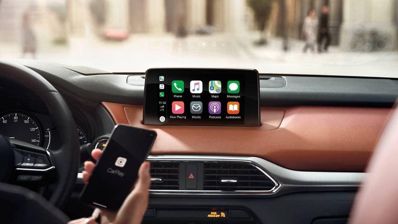 2019 Mazda CX-9 Apple Carplay connectivity