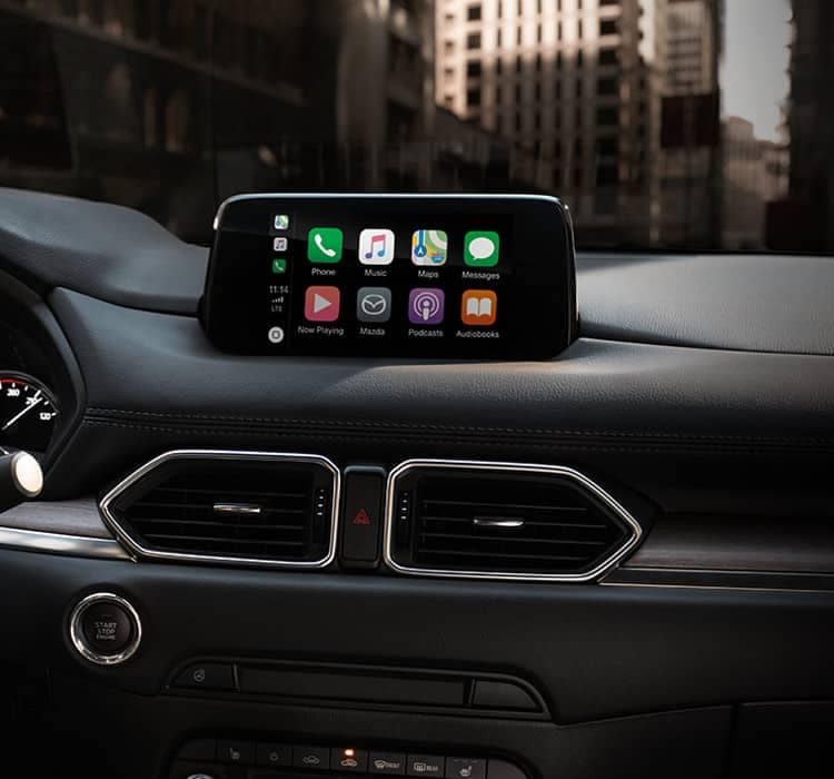Mazda apple carplay and android auto