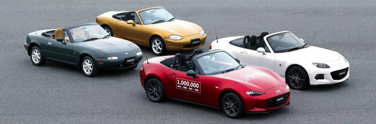 all Mazda Miata generations