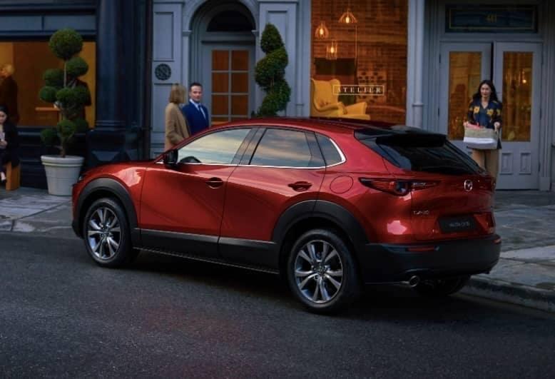 exterior of 2020 Mazda CX-30