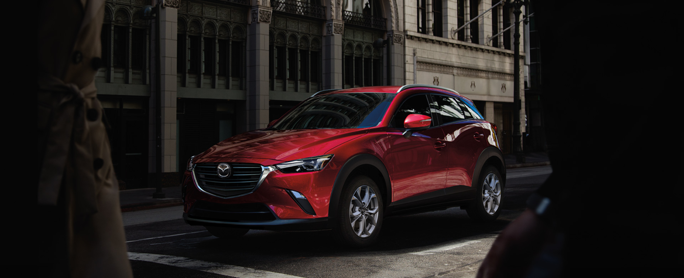 Red 2020 Mazda CX-3 Showcase