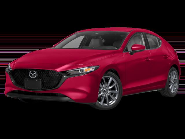 2020 Red Mazda3 Hatchback