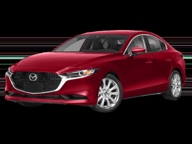 2020 Red Mazda3