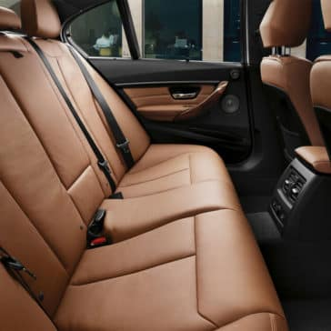 2018 BMW 3 Series Rear Seats