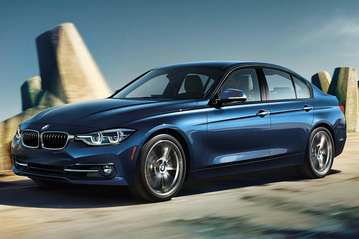 2018 BMW 3 Series in blue
