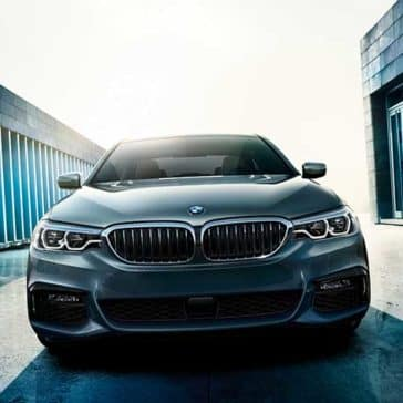 2018 BMW 5 Series grille