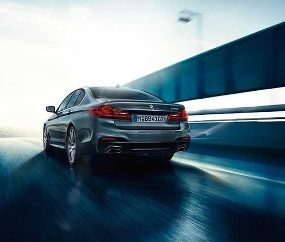 2018 BMW 5 Series driving
