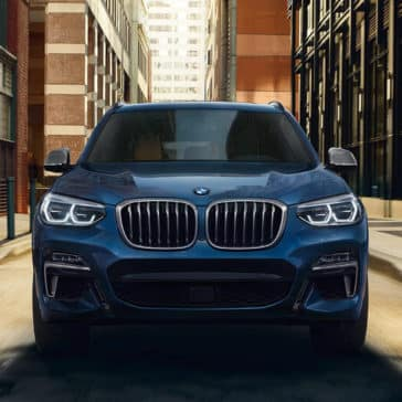 2018 BMW X3 M40i in blue metallic