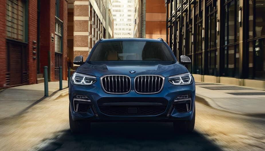 2018 BMW X3 M40i in blue metallic