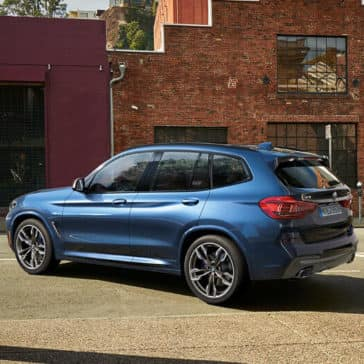 2018 BMW X3 M40i in city