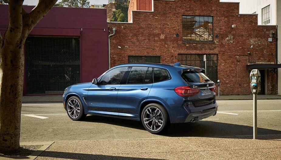 2018 BMW X3 M40i in city