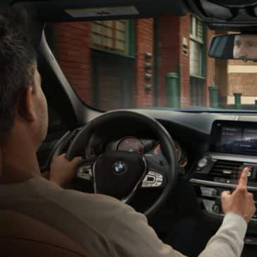 2018 BMW X3 interior cabin
