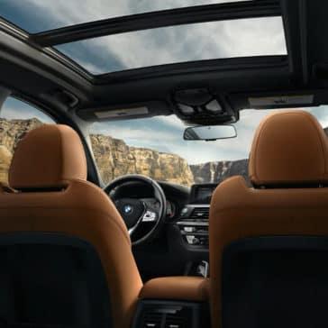 2018 BMW X3 panoramic roof