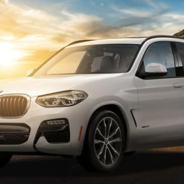 2018 BMW X3 in white