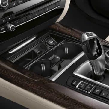 2018 BMW X5 console
