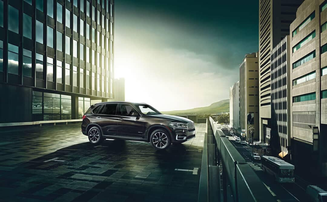 2018 BMW X5 xDrive50i in the city