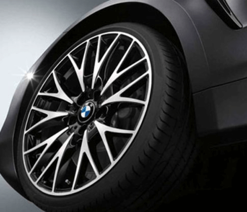 custom BMW rims