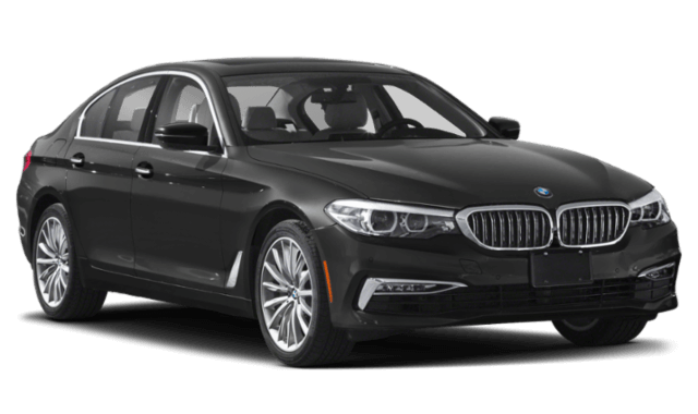 2020 BMW 5-Series black car frontview