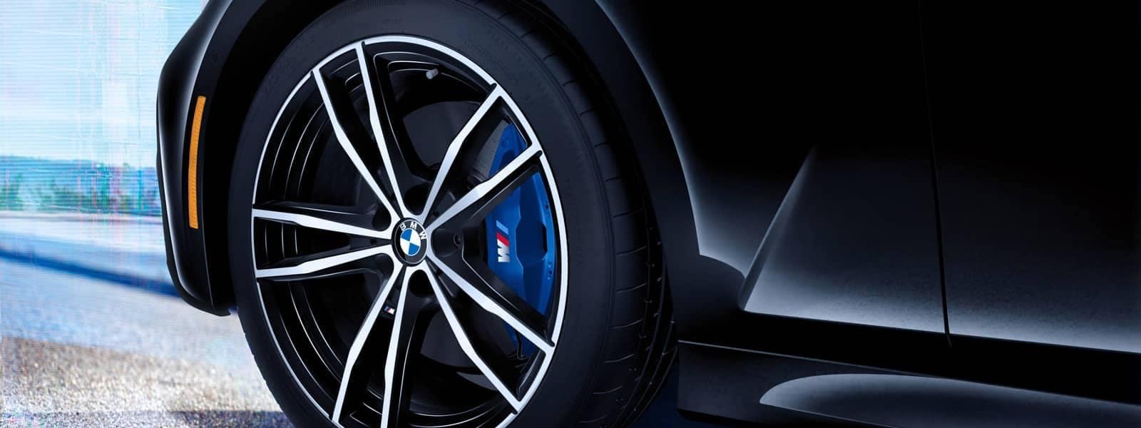 2020 BMW M3 brake caliper