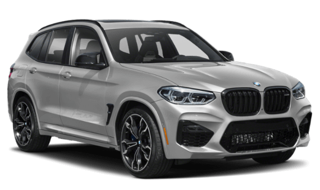 2020 BMW X3 frontview comparison thumbnail
