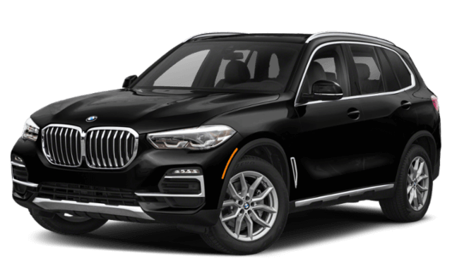 2020 BMW X5 frontview comparison thumbnail
