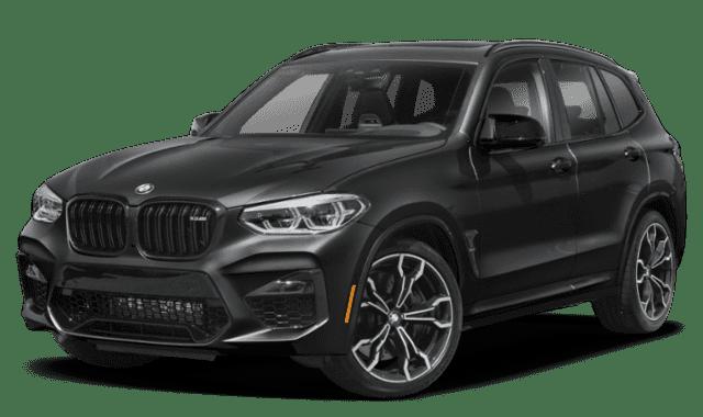 Black 2020 BMW X3