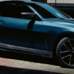 Blue BMW 4 Series