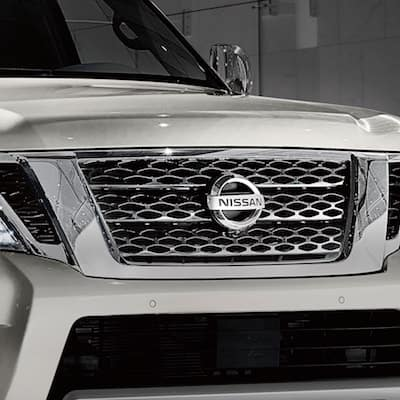 Nissan Armada Grille