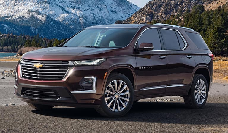 New 2021 Chevrolet Traverse Cocoa FL