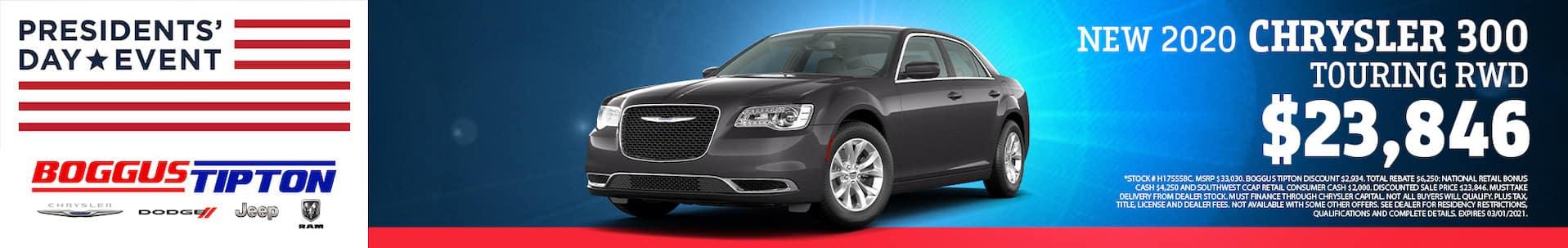 Chrysler your trade