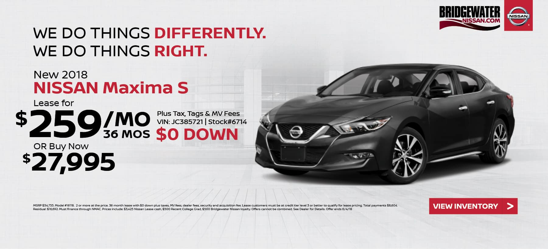 Nissan_Maxima Bridgewater Nissan May Homepage Offer