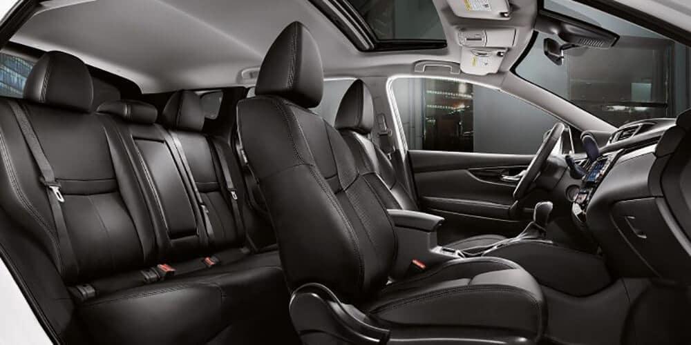 2018 5 Nissan Rogue Sport Interior design