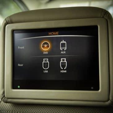 Headrest screens in 2019 Nissan Pathfinder