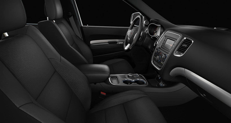 2018 Dodge Durango front interior