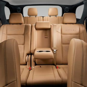 2018 Dodge Durango seating