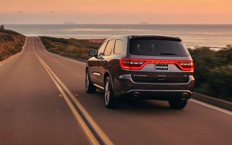 2018 Dodge Durango on the road