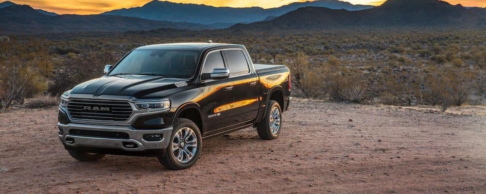 2019 RAM 1500 MPG in Black