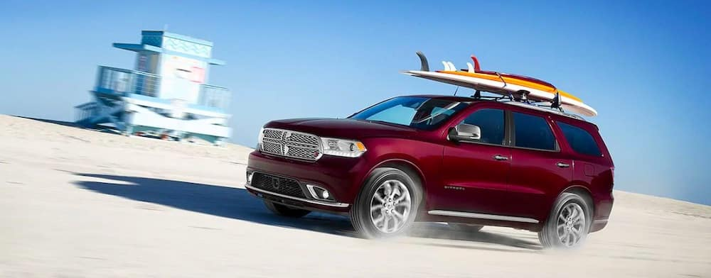 2019 Dodge Durango on Beach
