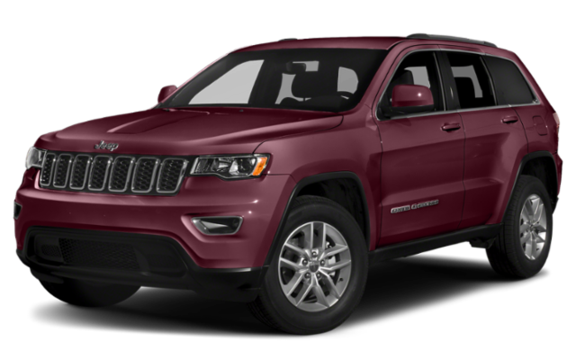 2019 Jeep Grand Cherokee in maroon