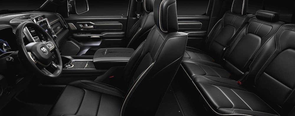 2019 All-New RAM 1500 interior seating