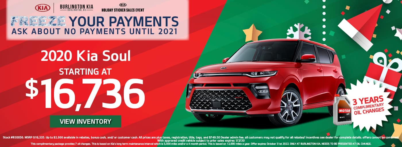 Save Big at the Kia Holiday Sticker Sales Event in Burlington NC